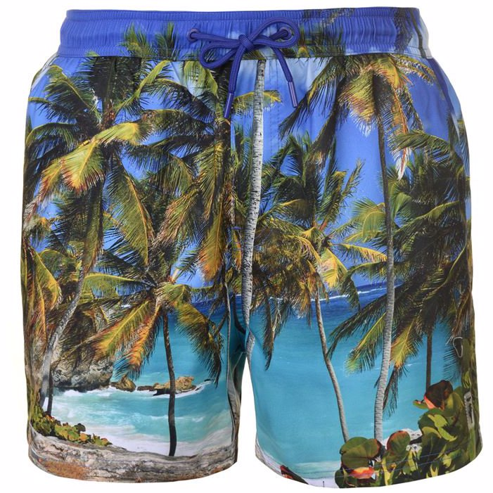 9447ec5bb28 OO | Pierre Cardin Photo Swimshorts Mens