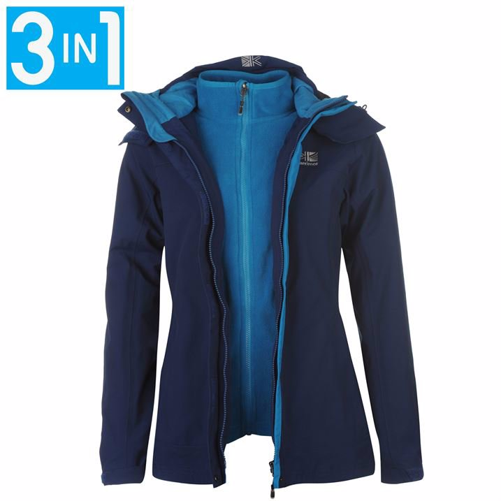 32c4b4881a9b Karrimor 3 in 1 Jacket Ladies