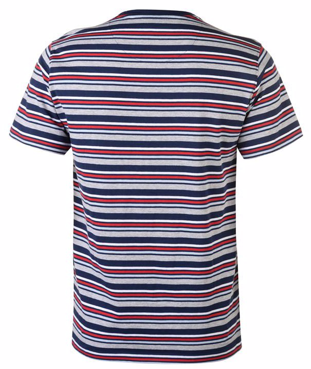 online retailer new arrive newest Multi Colour Striped Tee Mens