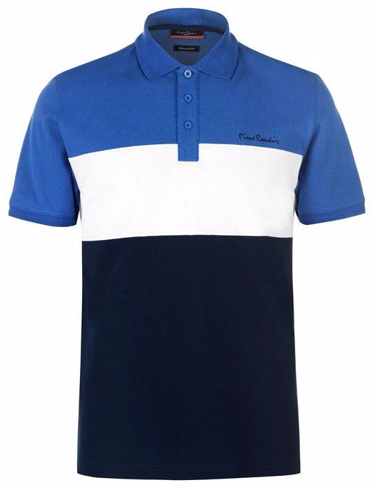 adaa29c4f4a459 Pierre Cardin Cut And Sew Polo Shirt Mens