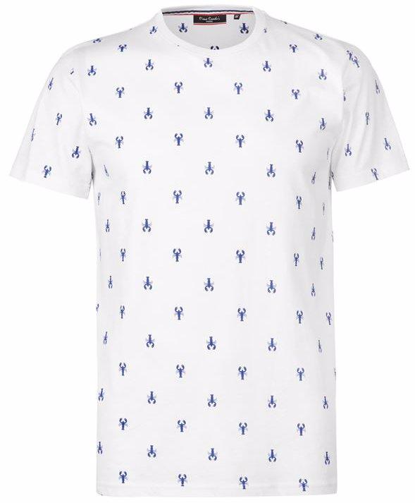 7b0897eb4fabd9 Pierre Cardin Seaside AOP T Shirt Mens