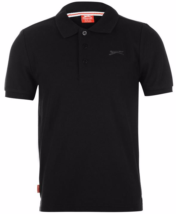 4869eb7ed SINGSALE | Slazenger Plain Polo Shirt Junior Boys