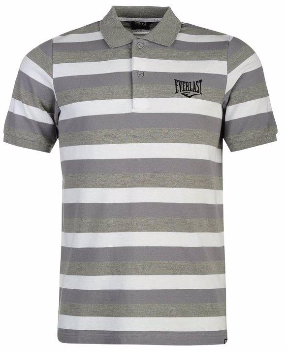 3fc09a9c0 SINGSALE | Everlast Stripe Polo Shirt Mens
