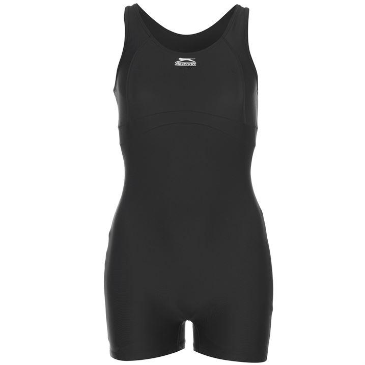 Womens Slazenger Basic Swimsuit Swimming Costume