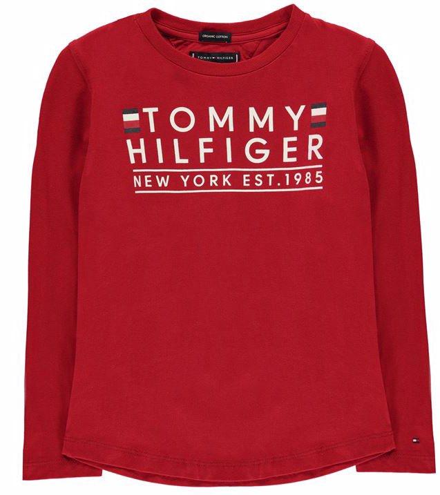 96f5bc4b2dbd Essential Long Sleeve Logo T Shirt by Tommy Hilfiger.