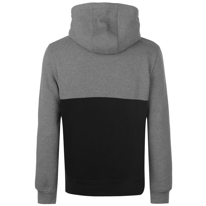 Mens SoulCal Colour Block Zip Hoodie Long Sleeve New