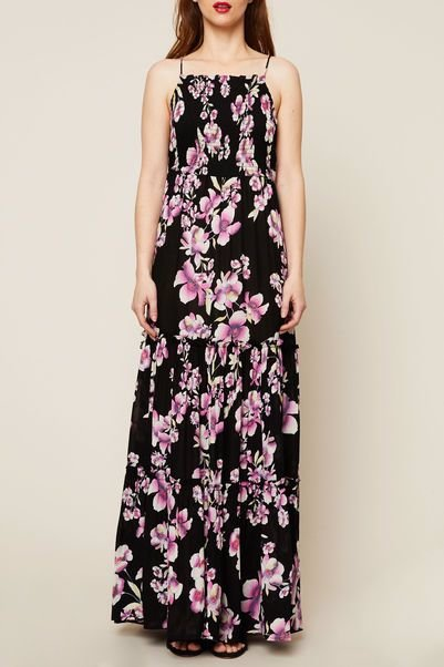 2dc3ccc3d8ad3 NZSALE | Free People Garden Party Floral Spaghetti Stap Maxi Dress