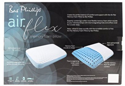 92d8fec966992 BuyInvite | Bas Phillips Air Flex Memory Foam Pillow - Stand. Bas