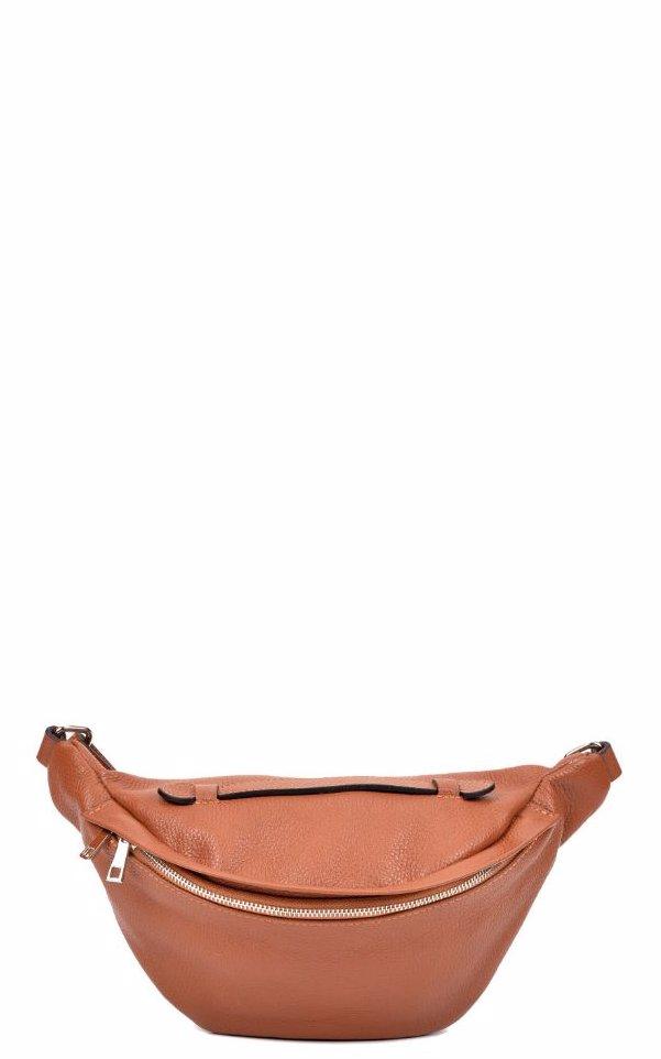 1c44d0f40 BuyInvite | Sofia Cardoni Women Leather SS19SC1484-Cognac Waist Bag