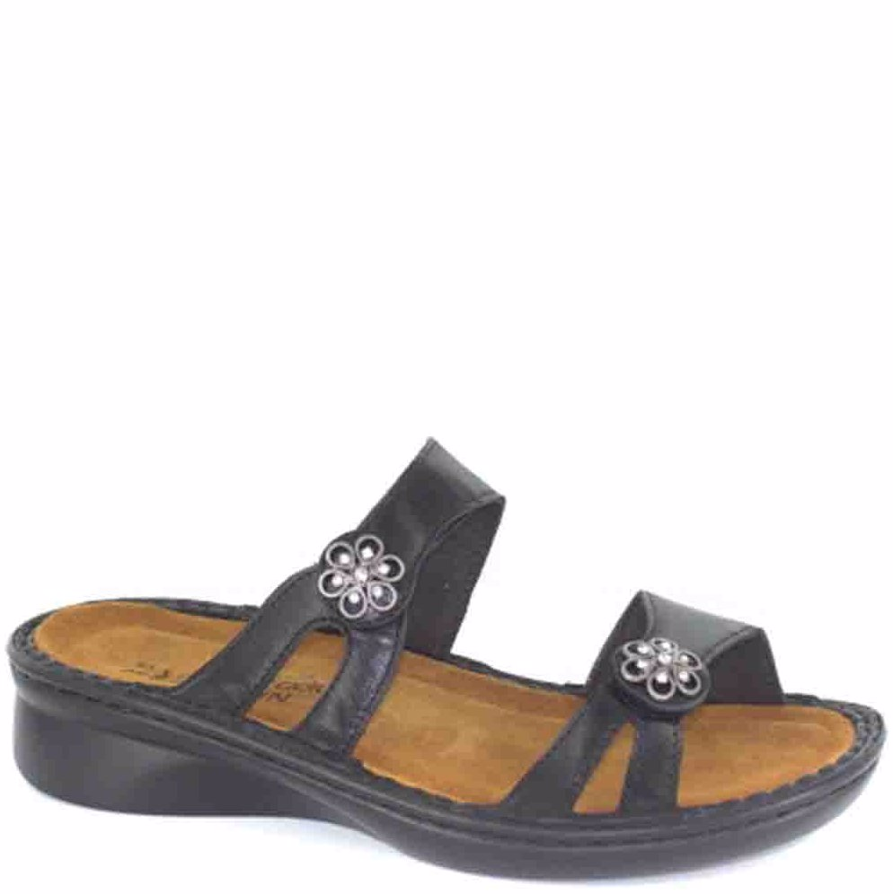 c53a4d2961f0 Preview with Zoom. NAOT. Melody Black Madras Sandal