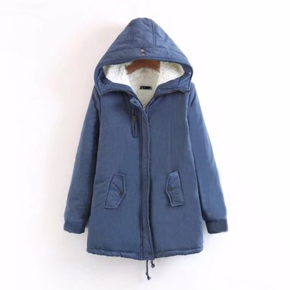 831386311 BuyInvite | Z&I Ladies Hooded Winter Fleece Coat