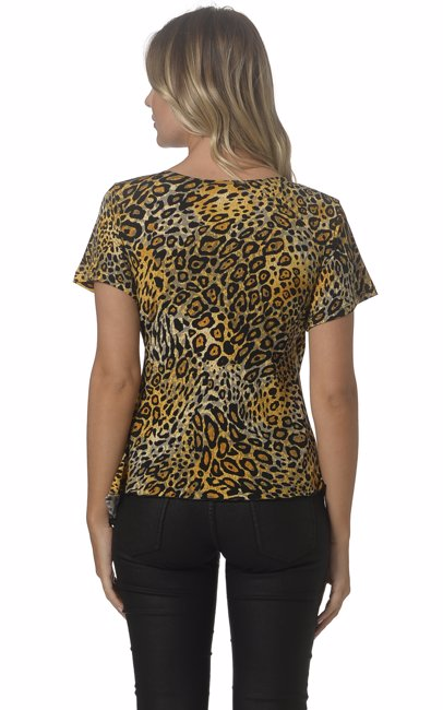 a2b6448d85d8 BuyInvite | Worship Leopard Cross Over Top