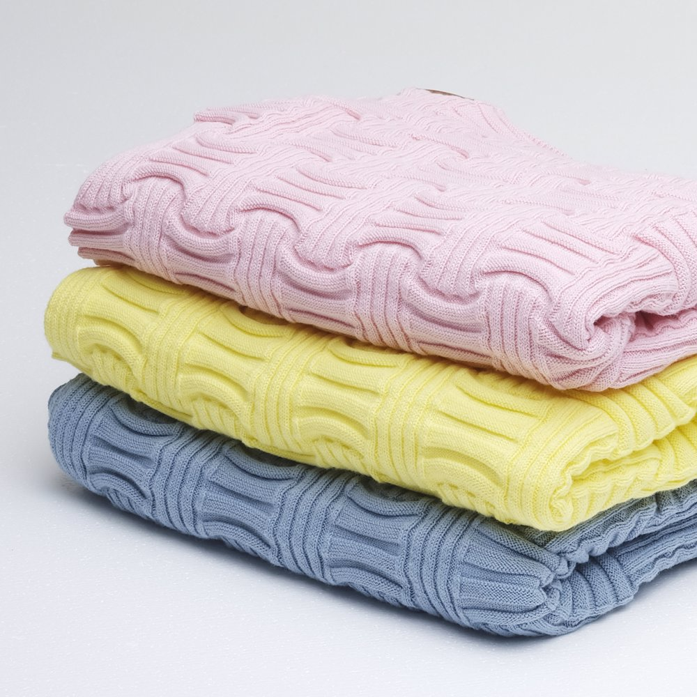 7cfb21b953419 Luxury Cotton Baby Blankets Yellow
