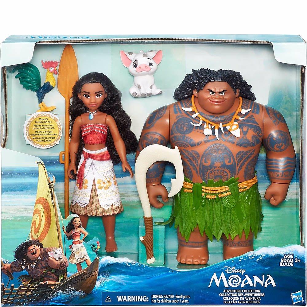 Disney Princess Moana & Maui Doll Set