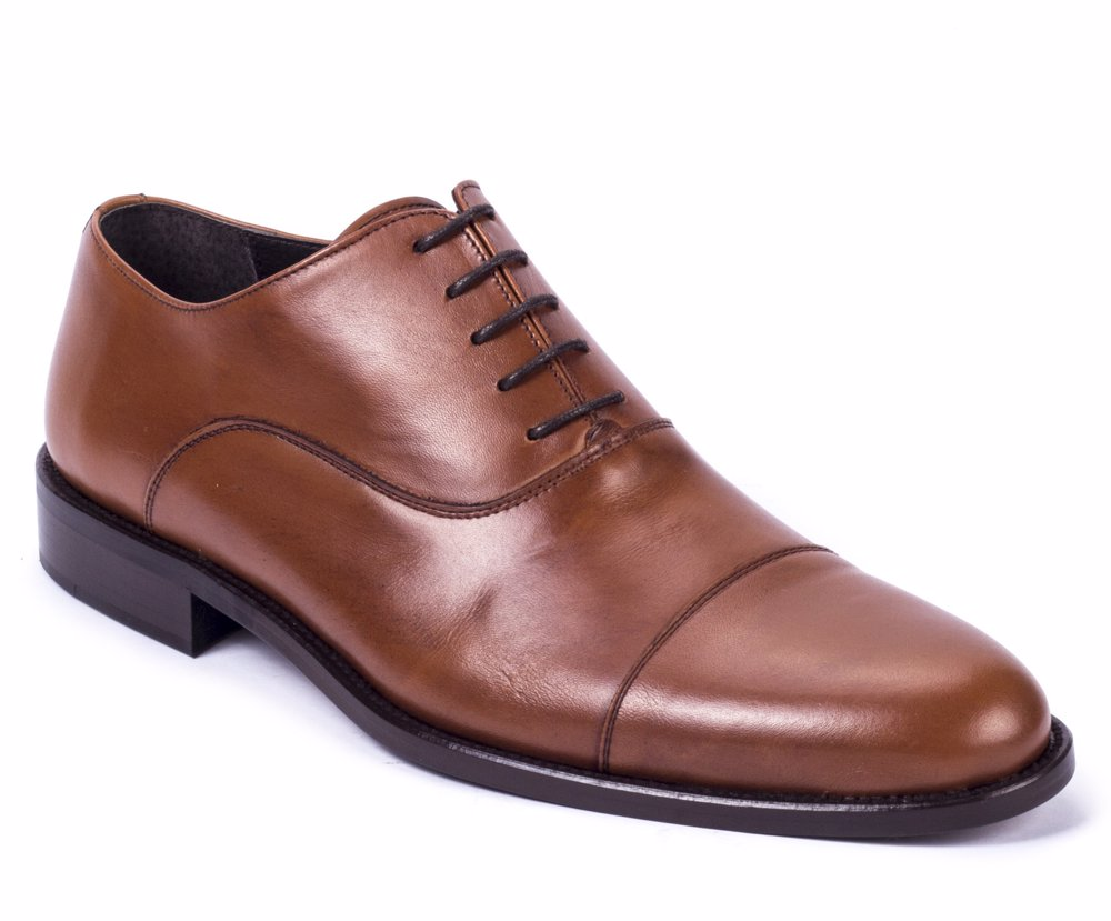 www ortiz reed leather oxfords light brown