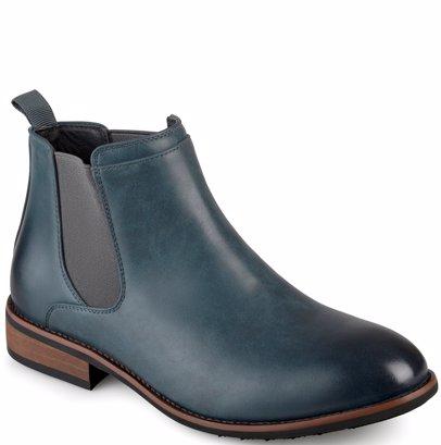 df732264ec6 SINGSALE | Vance Co. Men's 'Landon' Round Toe Wide Width High Top Chelsea  Dress Boots