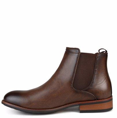 ee4c5b6042b BuyInvite | Vance Co. Men's 'Landon' Round Toe Wide Width High Top Chelsea  Dress Boots