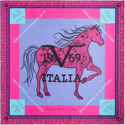 www.cocosa.co.uk — Versace 1969 Amazona Scarf Pink c1419376577
