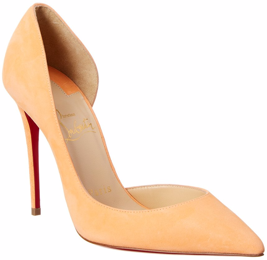 the best attitude b24f2 9523c Christian Louboutin Iriza 100 Suede Pump