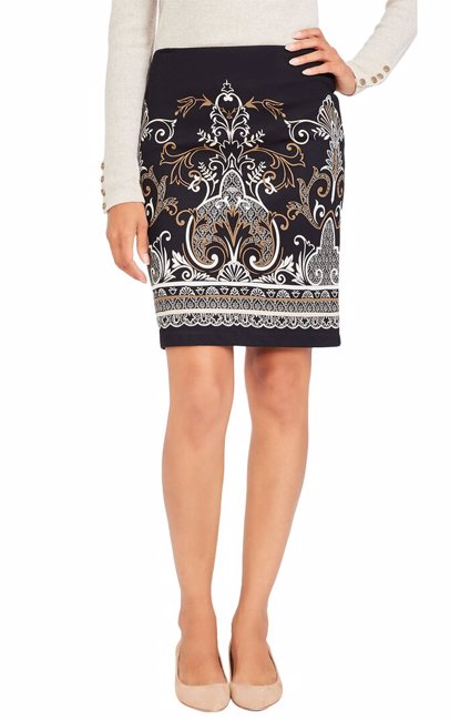J Mclaughlin Womens Pencil Skirt
