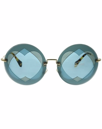 28bce79bffd9 BuyInvite | Miu Miu Women's Round 62mm Sunglasses