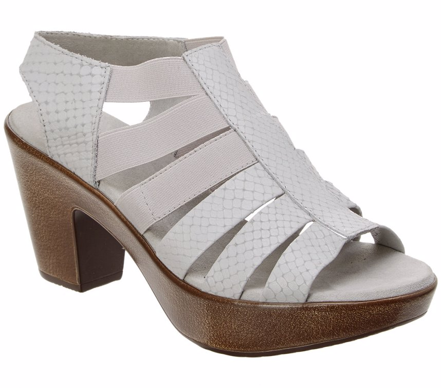 22efeae8e375 Preview with Zoom. Munro. Munro Cookie Leather Platform Sandal
