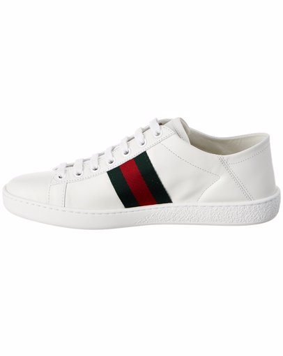 c117da492 MYSALE | Gucci Gucci Ace Collapsible Heel Leather Sneaker