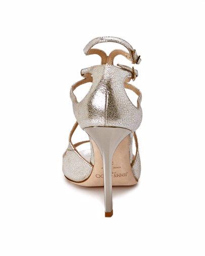 c9c03301c0e9 BuyInvite | Jimmy Choo Lang Glitter Leather Sandal