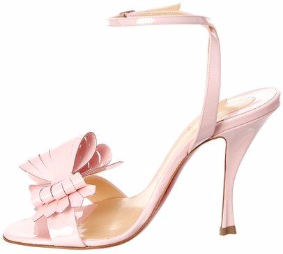 sports shoes 8e090 69bd8 Christian Louboutin Miss Valois 100 Patent Sandal