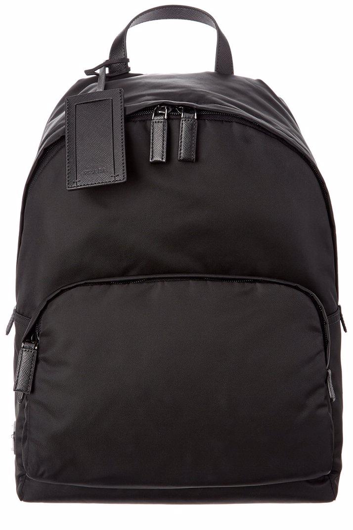 a3a8acee3ca0eb OZSALE   Prada Prada Technical Fabric & Saffiano Leather Backpack