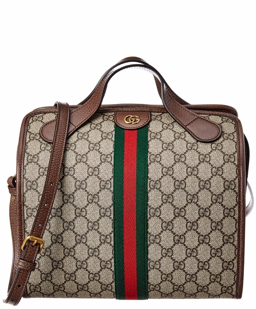 3d65da71be BuyInvite | Gucci Ophidia Mini GG Supreme Canvas & Leather Duffle