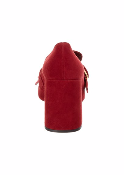9dcea19ee611 www.mysale.ph — Prada Prada Suede Fringe Pump