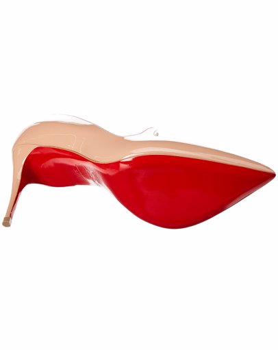 new product dd7b9 25d4a Christian Louboutin Jumping Asymmetric 85 Patent Pump