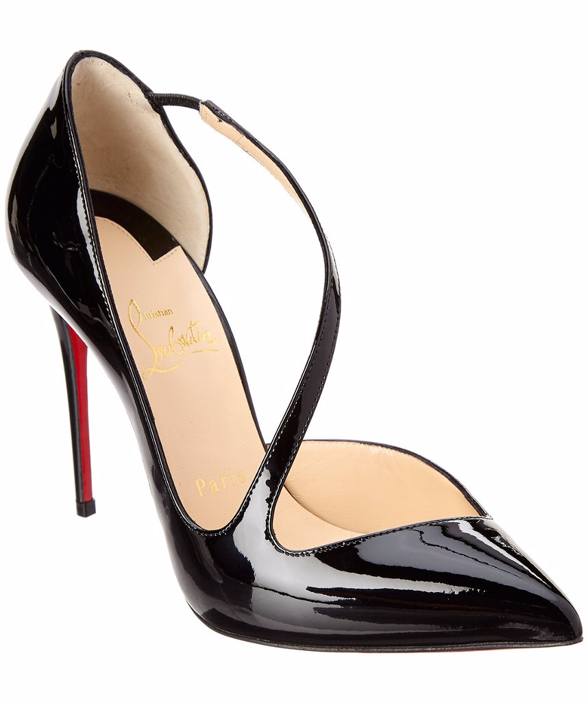 finest selection 94d24 2c840 Christian Louboutin Jumping 100 Patent Pump