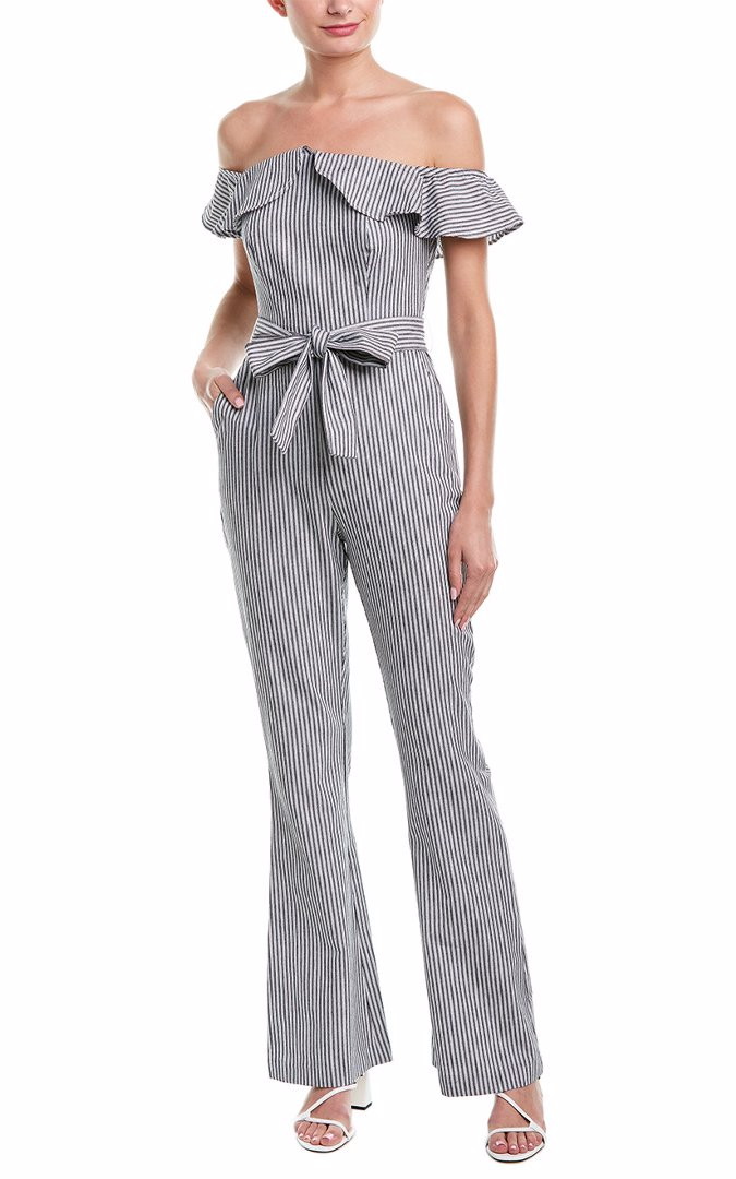 8d3d7876975c BuyInvite | BCBGeneration Off-The-Shoulder Jumpsuit