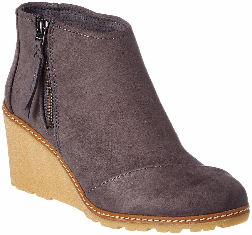 de99d6dd5f1 Preview with Zoom. Toms. TOMS Women s Avery Wedge Bootie