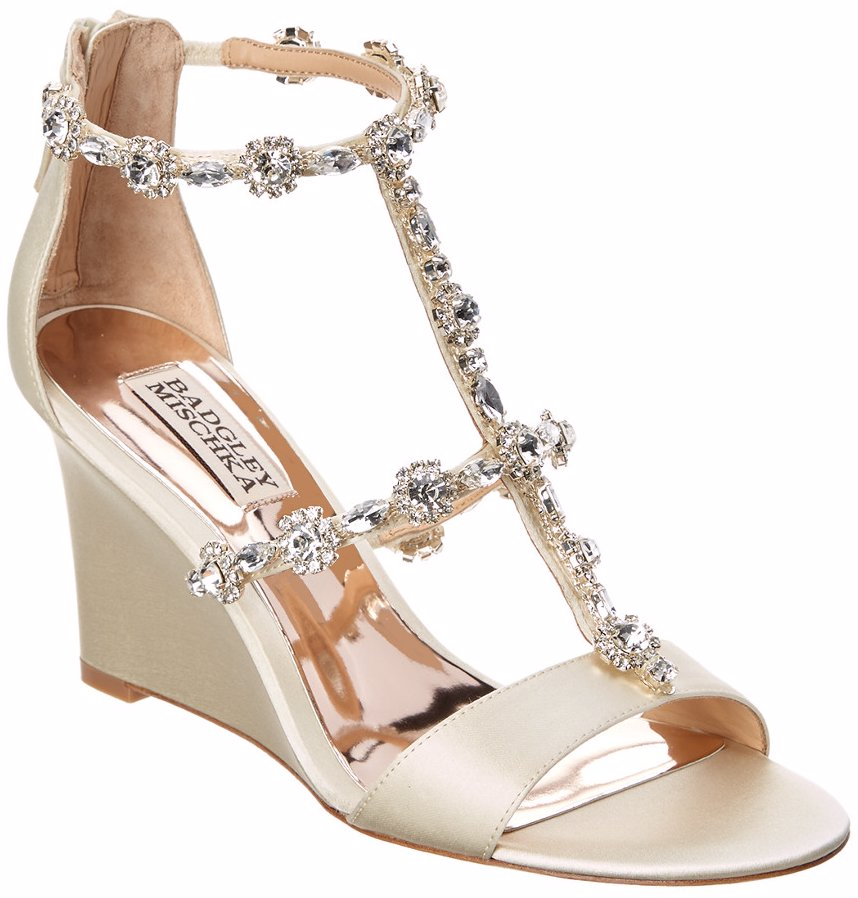 e38cc148af0 Sold Out. Preview with Zoom. Badgley Mischka. Badgley Mischka Tabby Wedge