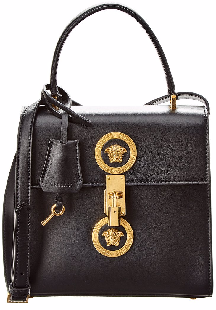 c97e92278361 www.ozsale.com.au — Versace Versace Medium Icon Leather Shoulder Bag