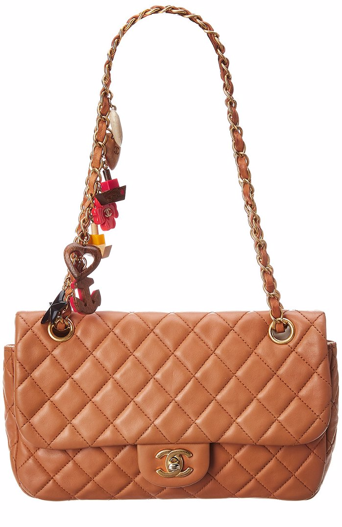 945625449dc6 SINGSALE | Chanel Chanel Limited Edition Brown Quilted Lambskin ...