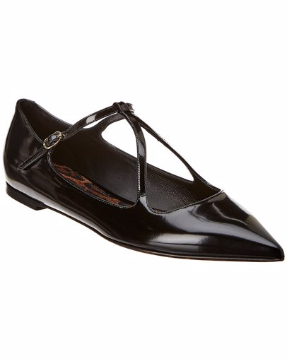 237d11e74c BuyInvite | Dolce & Gabbana Dolce & Gabbana Leather Mary Jane Flat