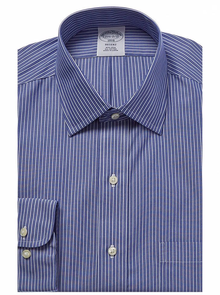 502814e47205 Sold Out. Preview with Zoom. Brooks Brothers. Brooks Brothers Regent Fit  Dress Shirt
