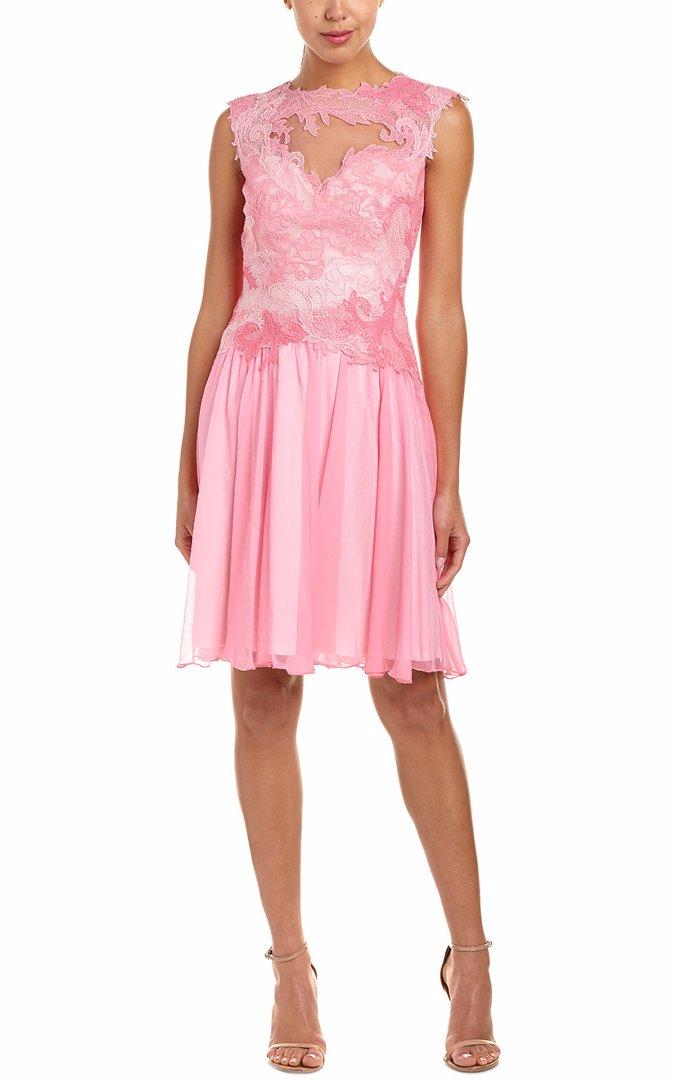Vistoso Tadashi Cocktail Dress Motivo - Colección del Vestido de la ...