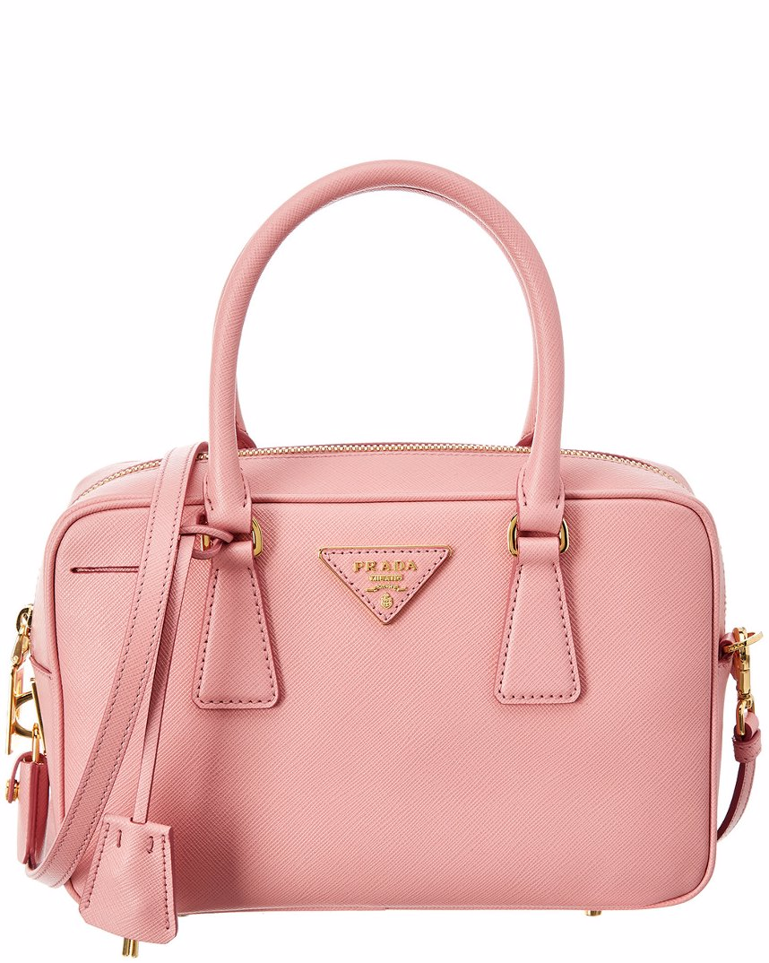 f5056b40c1c6 Sold Out. Preview with Zoom. Prada. Prada Small Saffiano Leather Bowling Bag