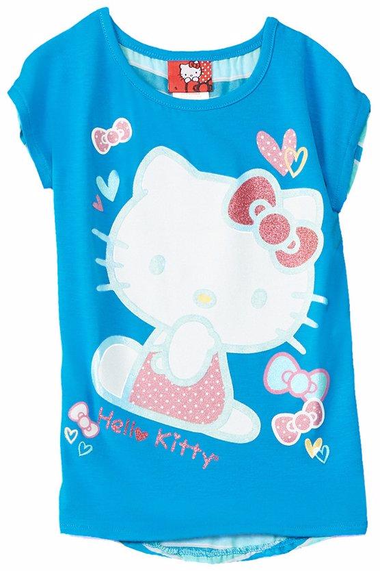 0f09cfd0 MYSALE   Hello Kitty Chiffon-Back T-Shirt