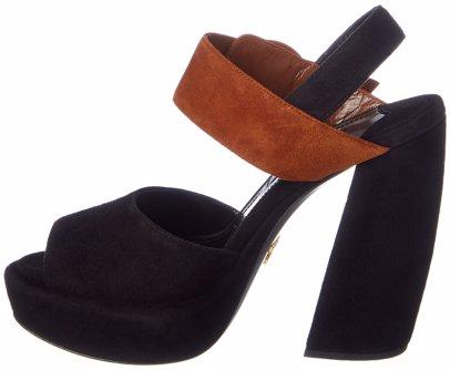 ec8cc61cff0b 54% off. Prada. Prada Suede Platform Sandal