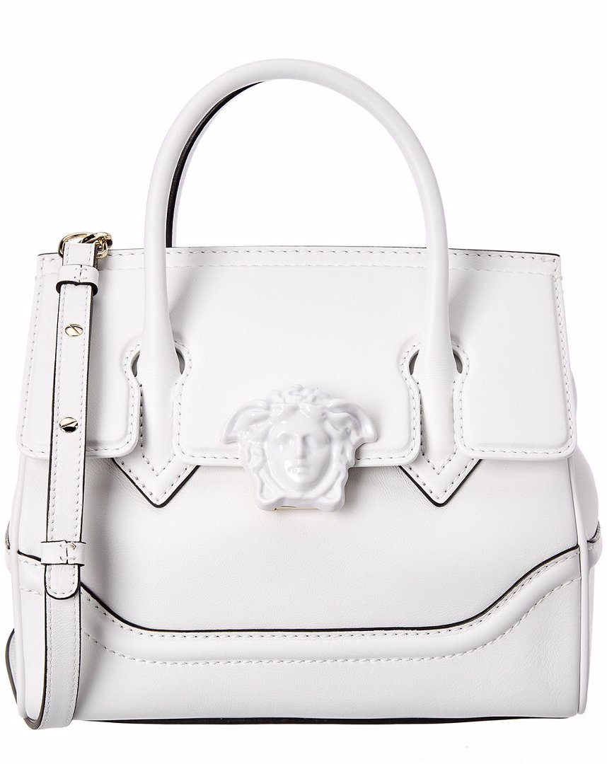 8a467023a3d6 Preview with Zoom. Versace. Versace Palazzo Empire Medium Medusa Leather  Satchel