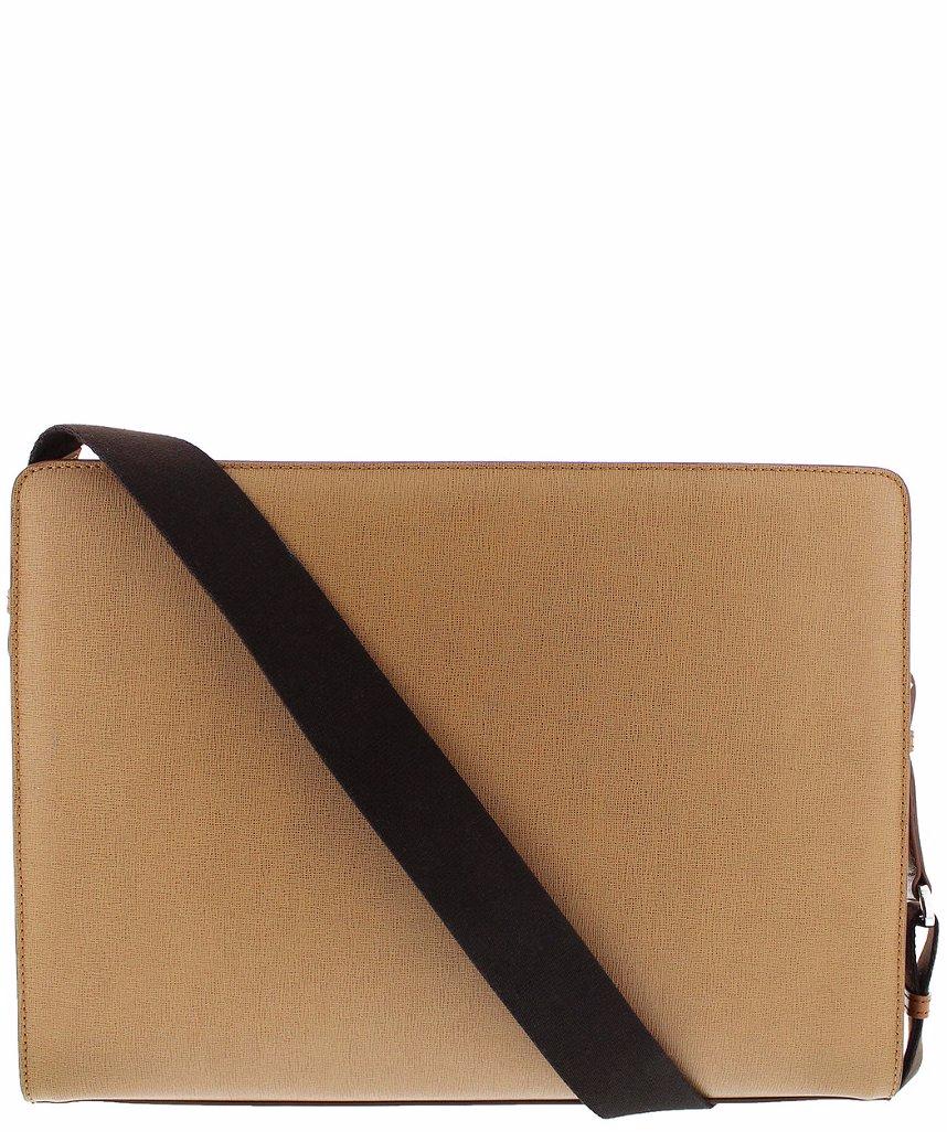 357beb52f855 Bruno Magli Men's Leather Neoclassico Messenger Bag