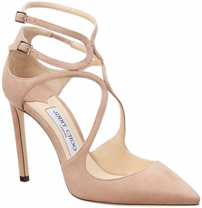 17e54308dd76 www.mysale.ph — Jimmy Choo Jimmy Choo Lancer 100 Suede Pointy-Toe Pump