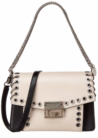 a4a054175a5 BuyInvite | Givenchy GV3 Eyelet Leather Shoulder Bag