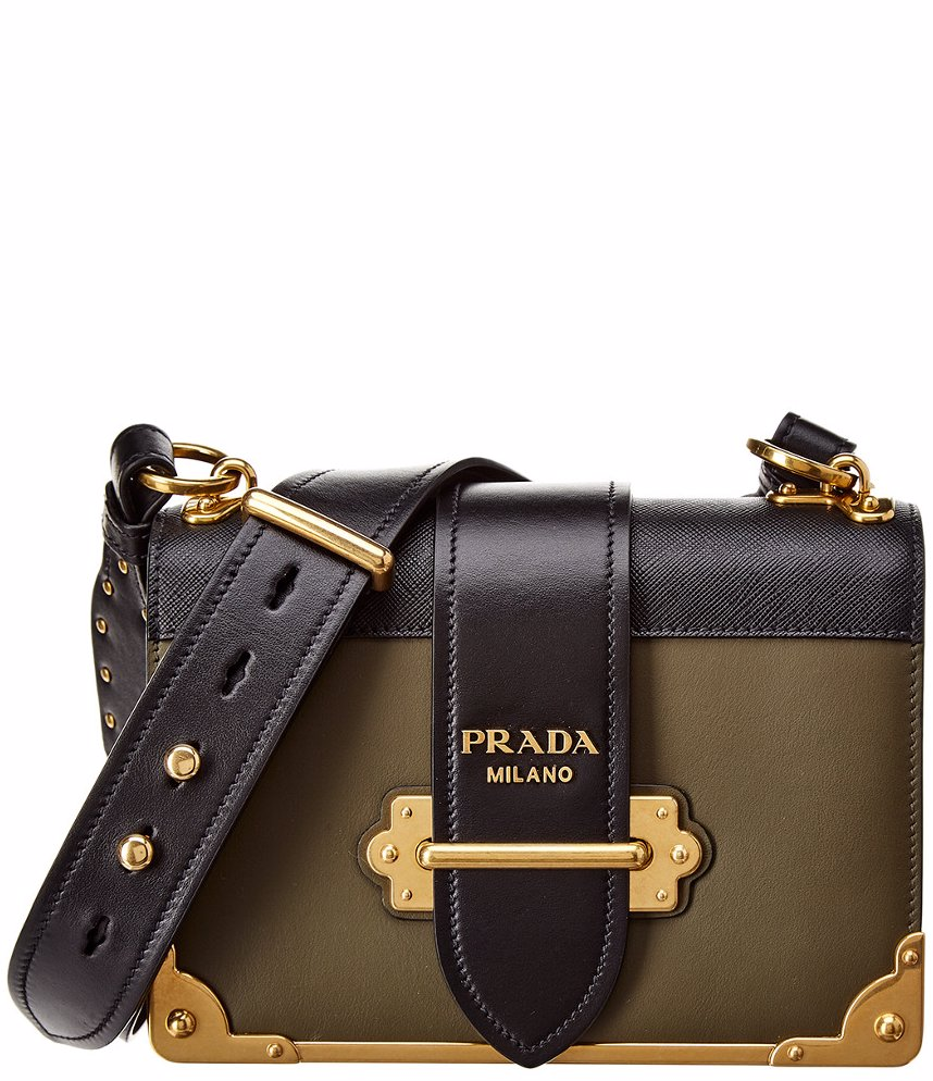 206c3e66ad25 NZSALE | Prada Prada Cahier Leather Shoulder Bag